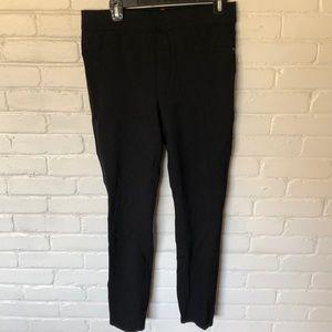 SPANX Black Ponte Ankle-Length Leggings